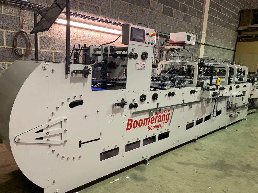 installation of Boomerang 6 OLRO February 2019